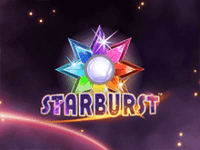 Автомат Starburst на зеркале клуба
