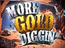 Игровые автоматы с фриспинами More Gold Diggin