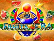 Fruits Of Ra от Playson – в клубе Вулкан Россия гаминатор с ГСЧ